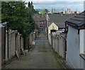 SD6626 : Alleyway in the Mill Hill area of Blackburn by Mat Fascione
