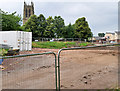 SD7807 : Radcliffe Civic Suite Demolition Site by David Dixon
