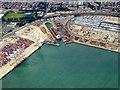 SU3912 : Southampton Western Docks by David Dixon