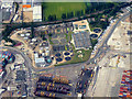 SU3812 : Southampton Dock Sewage Plant by David Dixon