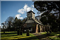 SJ8141 : St Mary and All Saints, Whitmore by Brian Deegan