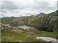 NG9787 : On the stalkers' path approaching Lochan Dubh nam Breac : Week 30