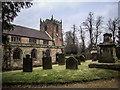 SJ9542 : St.Peter's Church, Caverswall by Brian Deegan