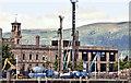 J3474 : City Quays hotel construction, Belfast (July 2016) by Albert Bridge