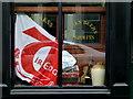 H4472 : Tír Eoghain flag, McCann's pub, Omagh : Week 31