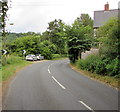 SO5817 : Bend in the road, Stowfield by Jaggery