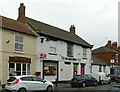 SE6422 : Co-operative store and Post Office, Market Place, Snaith by Alan Murray-Rust