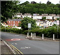 ST3388 : Traffic calming on Aberthaw Road, Newport by Jaggery
