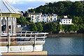 SH5873 : View to shore from Bangor Pier by David Martin