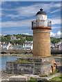 NW9953 : Old Lighthouse at Portpatrick Harbour : Week 32