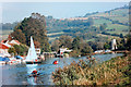 ST6967 : Busy River Avon at Saltford by Des Blenkinsopp