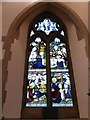 TQ0090 : Chalfont St Peter Parish Church: stained glass window (d) by Basher Eyre