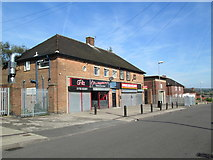 SJ8752 : Shops at Chell Heath by David Weston