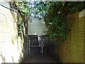 SK3637 : Underpass under Hampshire Road by Ian Calderwood