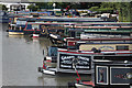 SP5465 : Narrowboats, Braunston Marina by Oast House Archive