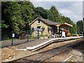 TL1597 : Ferry Meadows station on the Nene Valley Railway by Paul Bryan
