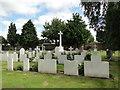 TM2935 : War Graves at Felixstowe cemetery by Adrian S Pye
