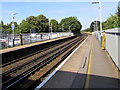 SU4417 : Northern end of Southampton Airport (Parkway) railway station by Jaggery