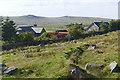 SX5674 : Yellowmeade Farm, Dartmoor by Alan Hunt