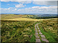 SJ9770 : The path to Macclesfield Forest by Andy Stephenson