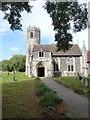 TM0375 : The parish church of St. Mary, Rickinghall Inferior, Suffolk by Derek Voller