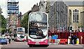 J3374 : Two Metro buses, Donegall Street, Belfast (September 2016) : Week 35