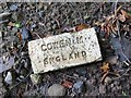 NZ1265 : 'Cowen M England' firebrick, Close House by Andrew Curtis