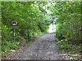 SP9359 : Forty Foot Lane by Robin Webster