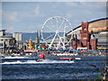 ST1973 : Jet skis in Cardiff Bay by Gareth James