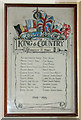TM1693 : Forncett St Mary - WW1 Roll of Honour by Evelyn Simak