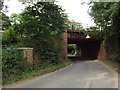 TQ4868 : Railway bridge over Sheepcote Lane, near Swanley by Malc McDonald
