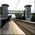 SP0482 : Selly Oak railway station footbridge, Birmingham by Jaggery