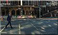 SJ8398 : Deansgate crossing (detail), Manchester : Week 37
