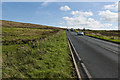SD7323 : There's nowhere to stop on this busy stretch of road by Ian Greig