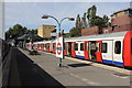 TQ1880 : District line arrival : Week 39