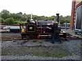 SN5881 : Hunslet locomotive 'Margaret' being prepared for 'driver experience' duties by John Lucas