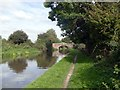 SK4027 : Approaching Scotch Bridge on the Trent & Mersey Canal by Graham Hogg