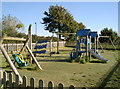 ST6660 : Farmborough play area by Neil Owen
