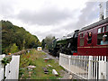 SD8022 : East Lancashire Railway, Flying Scotsman Leaving Rawtenstall by David Dixon
