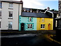 SN6196 : Yellows and greens in  Chapel Square, Aberdovey : Week 42
