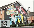 J3573 : Belfast Giants mural, Belfast - October 2016(1) by Albert Bridge