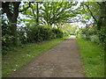 TL1595 : Footpath, Orton Brimbles (1) by Richard Vince