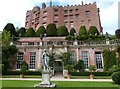 SJ2106 : Orangery on the lower terrace, Powis Castle by Derek Voller