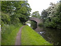SO8697 : Mops Farm Bridge, Staffordshire & Worcestershire Canal by Richard Vince