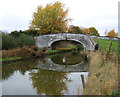 SJ7263 : Bridge over the Trent & Mersey Canal  by JThomas