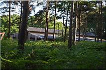 TQ3327 : Barn, River's Farm by N Chadwick