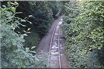 TQ3327 : Dismantled railway spur by N Chadwick
