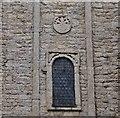 TF0705 : Barnack, St. John the Baptist Church: The Saxon sundial 1 by Michael Garlick