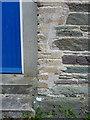 SX2051 : OS benchmark - Polperro, former village school by Richard Law