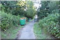 SU4416 : Path off Wide Lane by DS Pugh